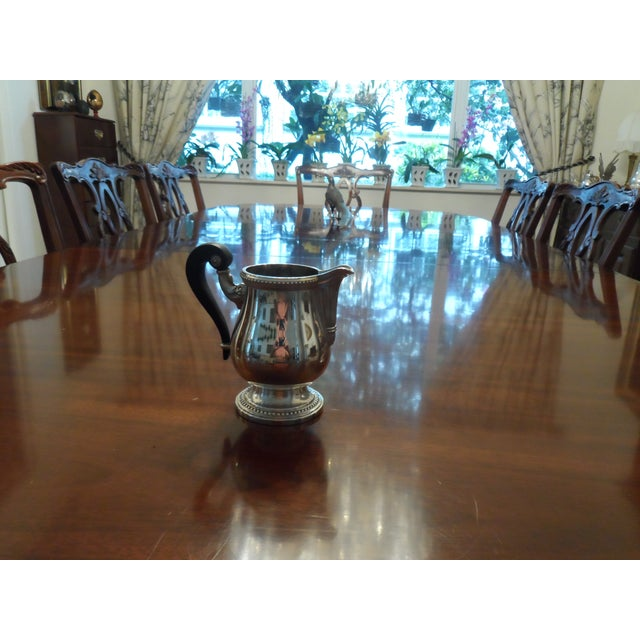 Tea Set by Christofle silver plated model Pearles. Set is more than 25 years old but in very good condition Set include...