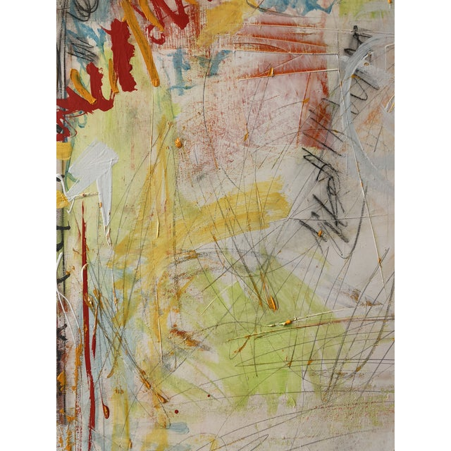 2010s Washington Square Park Abstract Painting For Sale - Image 5 of 6