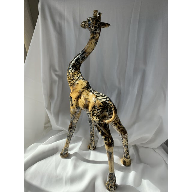 Art Deco Giraffe For Sale - Image 4 of 6