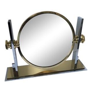 Karl Springer Vanity Mirror For Sale