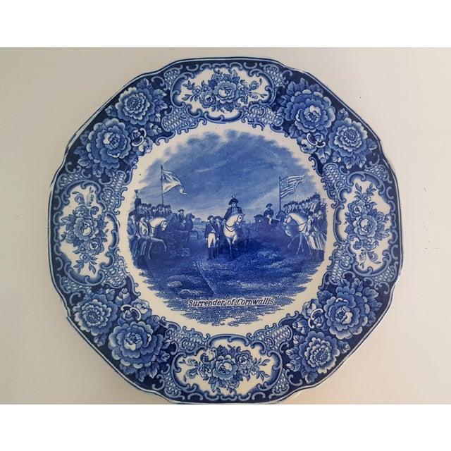 Vintage George Washington Bicentenary Memorial Plates 1732-1932 Crown Ducal England - Image 2 of 5