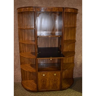 1960s Art Deco Drexel Three Piece Lighted Wall Unit Preview