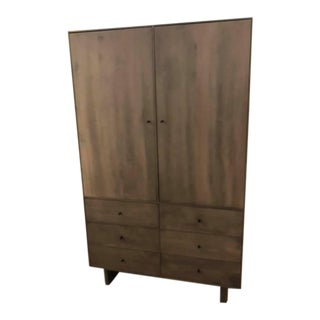 Contemporary Room & Board Hudson Armoire For Sale