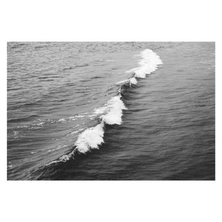 Large Black and White Crashing Wave Photograph For Sale