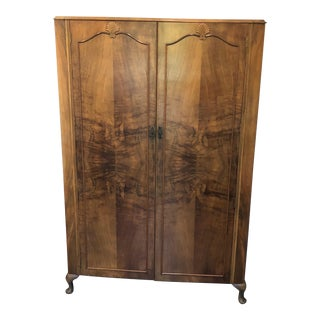 Antique Wooden Traditional Armoire For Sale