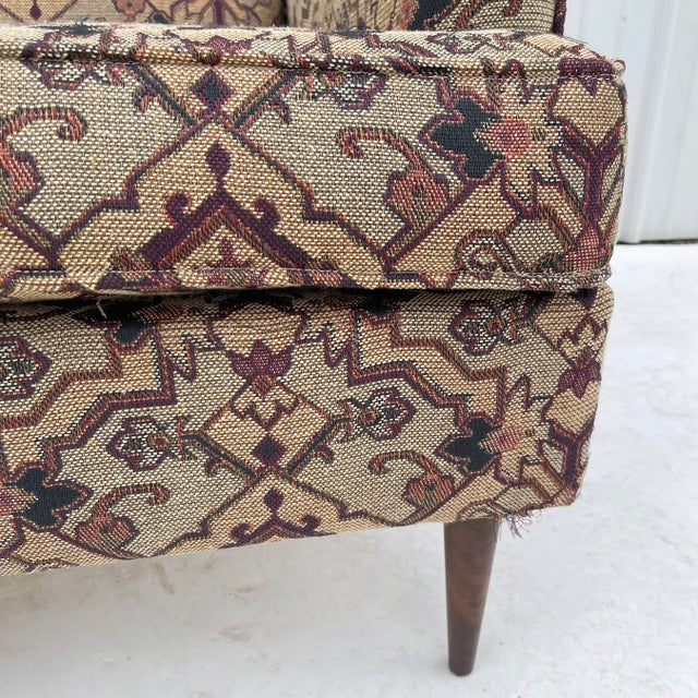 Mid-Century Modern Lounge Chair With Ottoman For Sale - Image 9 of 13