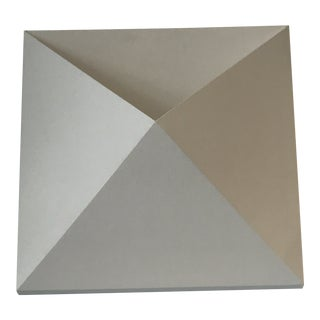 Sonneman Outdoor White Prism Sconce For Sale