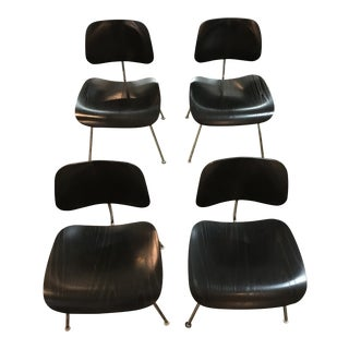 2004 Eames Dcm Molded Plywood Chairs for Herman Miller - Set of 4 For Sale