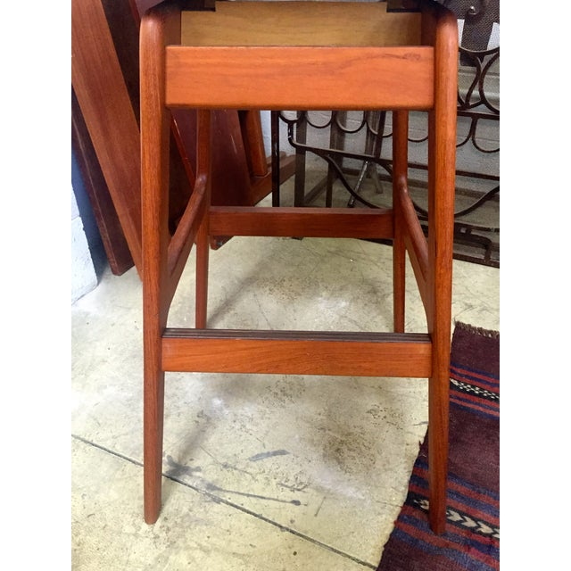 Danish Mid-Century Swivel Bar Stool - Image 5 of 5