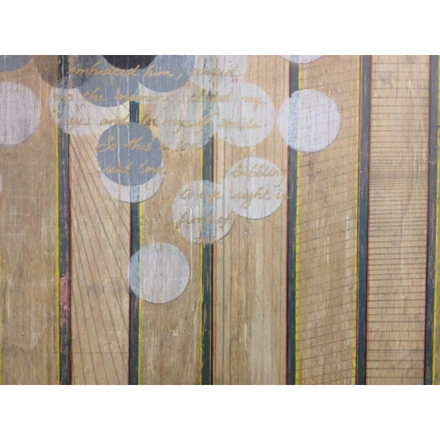 Circles and Stripes Mixed Media Original Art - Image 7 of 10