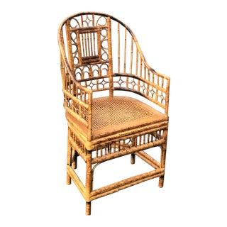 Vintage Bamboo Pavillion Armchair