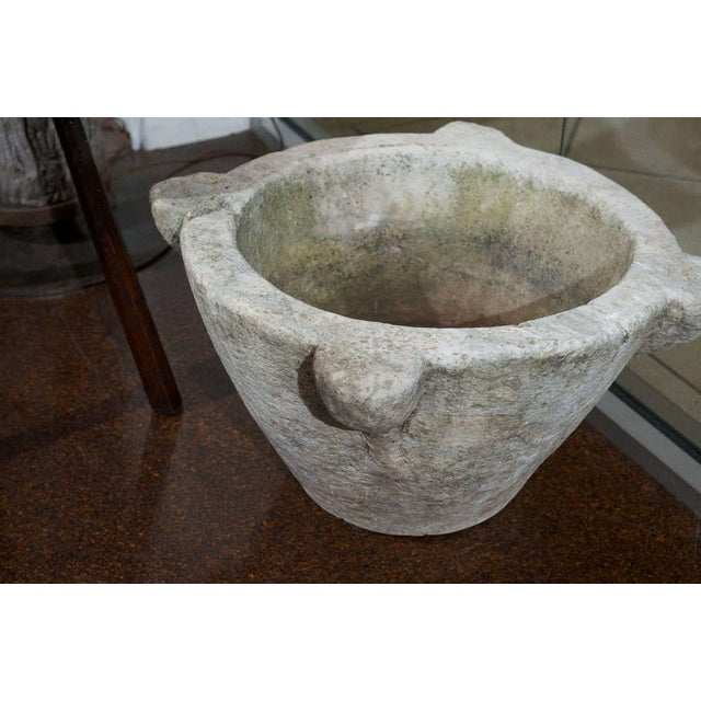 Very Large Scale Carved Stone Mortar For Sale In San Francisco - Image 6 of 6