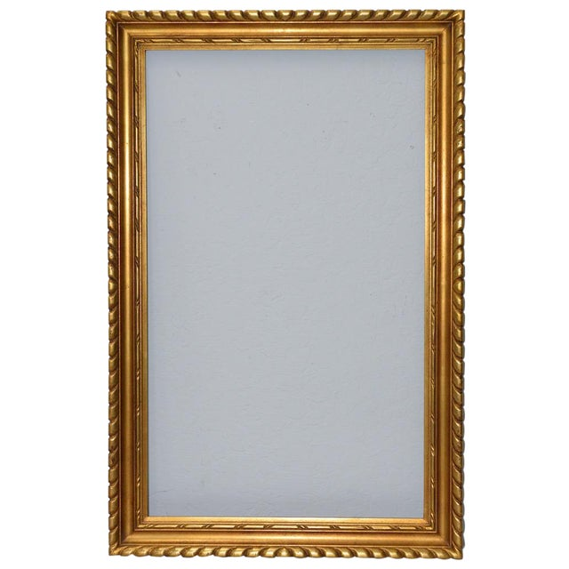 M. Grieve Co. Hand Carved & Gilded Frame C.1910 | Chairish