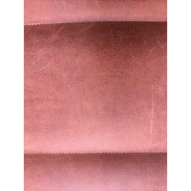 Upholstered Garrett Leather Bench - Image 5 of 7