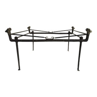 Giacometti Style Cocktail Table For Sale