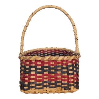 Mississippi Choctaw Cane Basket