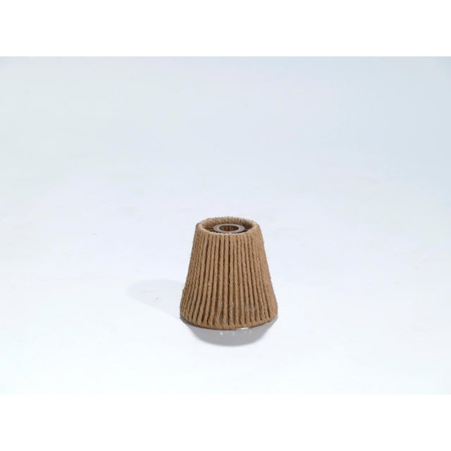 1960s Set of Three Audoux Minet Small Rope Shades, 1960s For Sale - Image 5 of 9