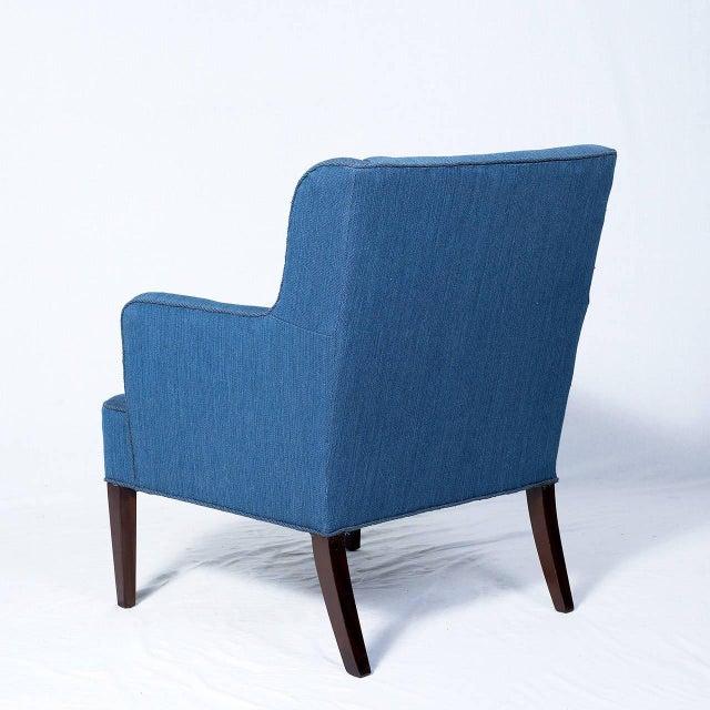 Frits Henningsen Frits Henningsen Lounge Chair For Sale - Image 4 of 7