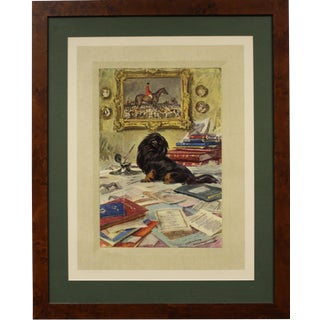 """""""Black Knight"""" by Sir Alfred J Munnings For Sale"""