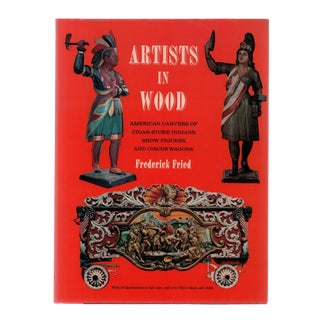 "1970 ""Artists in Wood"" Coffee Table Book For Sale"