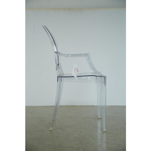 Kartell Louis XVI Ghost Chairs by Philippe Starck for Kartell, Unused With Original Tags, 12 Available For Sale - Image 4 of 10