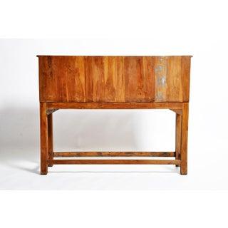 1960s Vintage British Colonial Teak Wood Filing Cabinet Preview