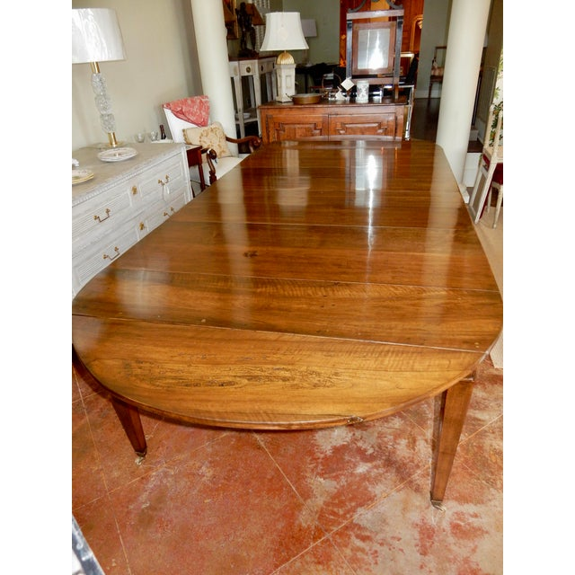 Louis XVI Directoire' Extension Dining Table For Sale In New Orleans - Image 6 of 9