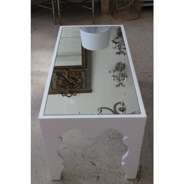 White Lacquered Coffee Table - Image 4 of 7