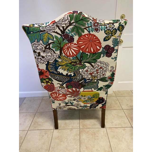 Mai Dragon Club Chair For Sale - Image 9 of 11