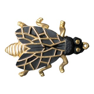 Brass Fly Bottle Opener