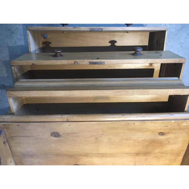 English Antique Pine Chest of Drawers For Sale - Image 4 of 8