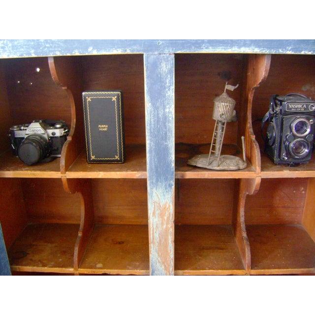 Antique Handmade Pine Hanging Cabinet - Image 7 of 9