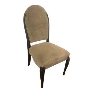 Kravet Jolie Velvet Side Dining Chair For Sale