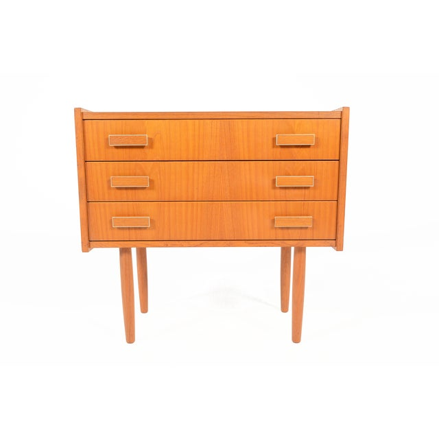 Danish Modern Ejsing Mobelfabrik 3-Drawer Chest - Image 2 of 10