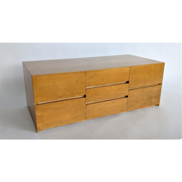 Mid-Century Modern Edmond Spence Cabinet in Maple For Sale - Image 3 of 8