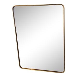 Restoration Hardware Bristol Brass Mirror For Sale