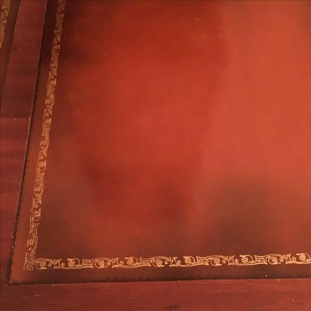 Vintage Mahogany Desk - Image 6 of 6