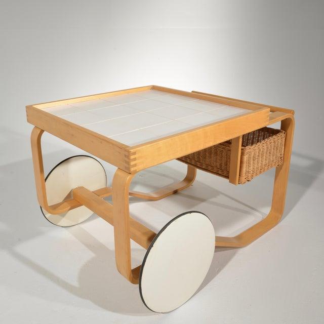 Alvar Aalto for Artek Tea Cart Model 900 For Sale In Los Angeles - Image 6 of 13
