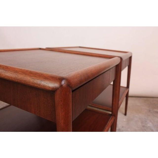 Pair of T. H. Robsjohn-Gibbings Single Drawer End Tables - Image 10 of 10