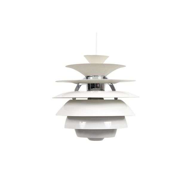Mid-Century Modern Poul Henningsen Snowball Pendant For Sale - Image 3 of 13