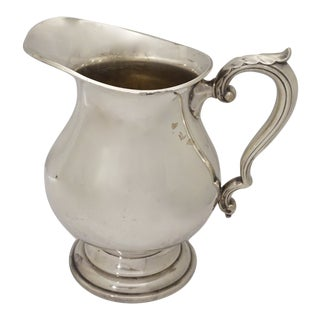Vintage Wallace Silver Water Pitcher For Sale