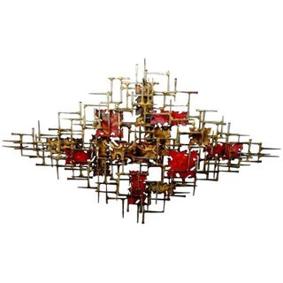 Wall Sculpture by William and Bruce Friedle For Sale