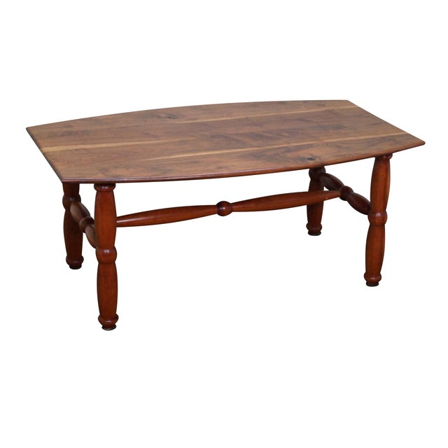 Studio Made Solid Walnut & Mix Wood Coffee Table - Image 1 of 10