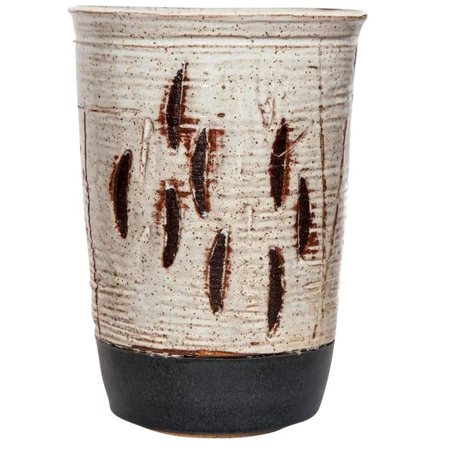 Sophisticated Customizable Matthew Ward Large Abstract Vase Decaso