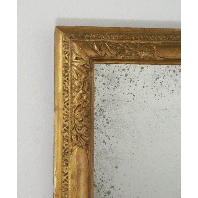 18th Century Giltwood Frame Mirror For Sale In San Francisco - Image 6 of 6
