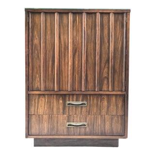 1970's Highboy Wood Dresser