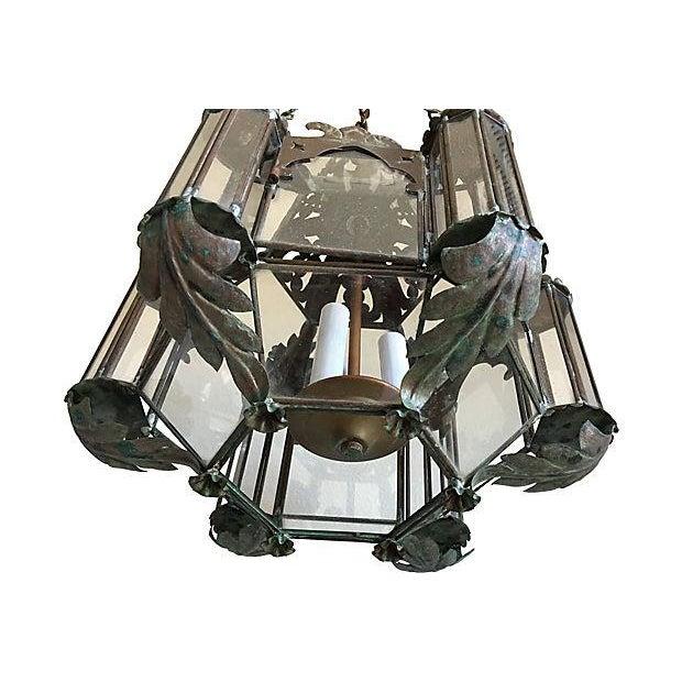 Mid-Century Moroccan Lantern Pendants - A Pair - Image 4 of 7