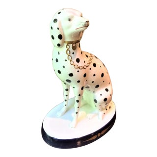 Italian Vintage Dalmatian Figurine For Sale