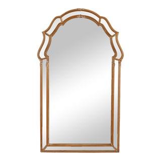 Vintage La Barge Cerused Oak Mirror For Sale