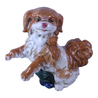 20th Century Figurative King Charles Statue For Sale